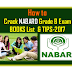 How to Crack NABARD Officer Grade B Preliminary Exam | Tips & Books-2017