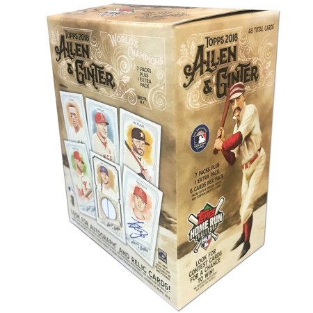 Walmart 2018 Topps Mlb Baseball Value Box Trading Cards 13 Was
