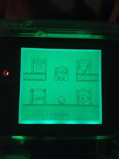 pantalla eleccion de fase kirby