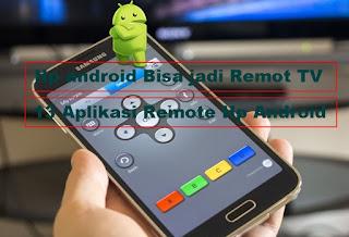 Aplikasi remote TV Hp android