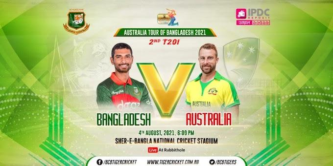 Bangladesh vs Australia T20 Live Streaming