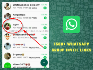 Join 2000+ Latest Whatsapp Groups Link List-May 2019