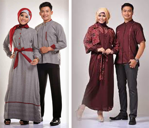 model baju lebaran 2017 couple