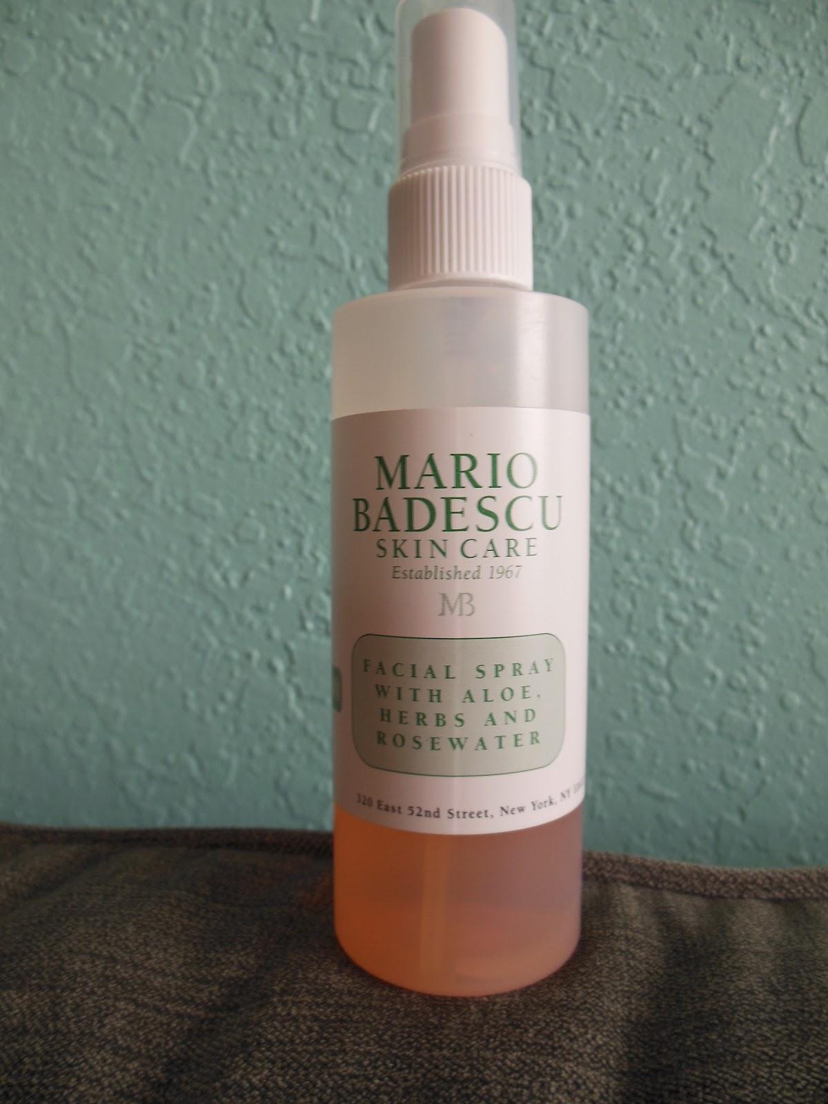 All Things Beauty Review Mario Badescu Facial Spray