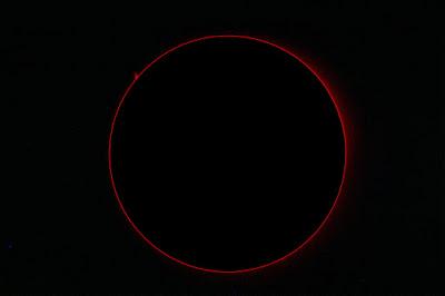 Cromosfera solar i protuberàncies