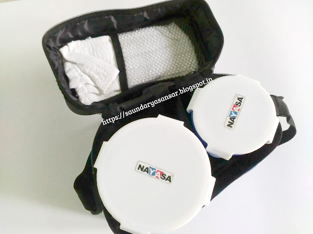 Nayasa Lunch Box- inner view