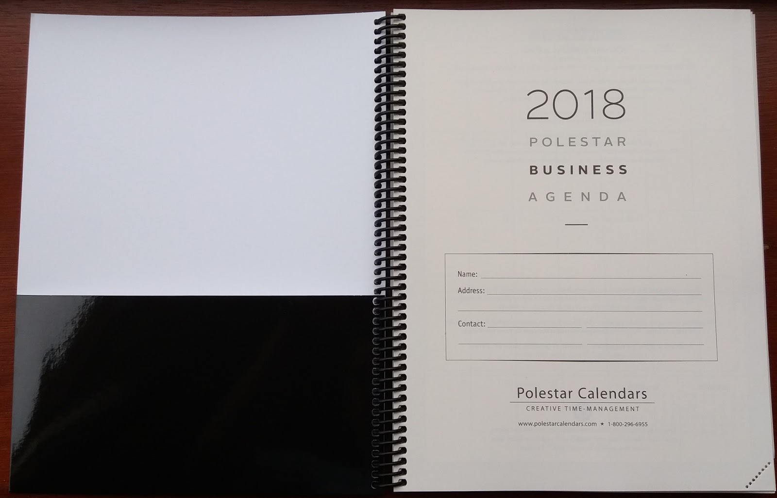Plannerisms polestar calendars business agenda and polestar planner the business agenda also has contacts pages usa and canada reference pages and several lined pages for notes perforated corners allow you to find your altavistaventures Image collections