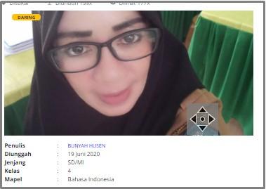 Download RPP Daring Bahasa Indonesia Kelas 4 SD