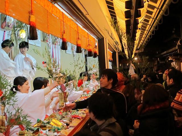 Toka Ebisu Festival Perayaan Tahunan di Jepang