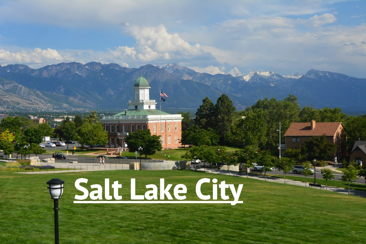 Sur les hauteurs de Salt Lake City