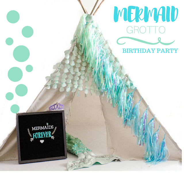 mermaid grotto birthday party