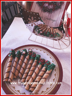 Hazelnut Pirouline Cookies