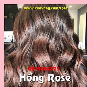 HỒNG ROSE GOLD: MÀU TÓC NHUỘM ĐỘC QUYỀN THƯƠNG HIỆU KORIGAMI