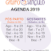 Agenda do semestre no ar!