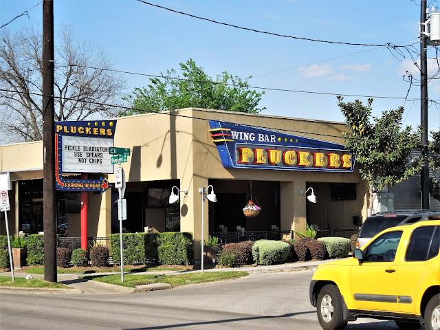 Pluckers Wing Bar 1400 Shepherd Drive Houston TX 77007