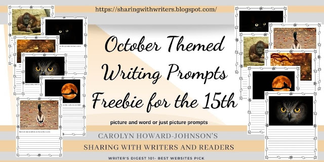 October Themed Writing Prompts Freebie for the 15th