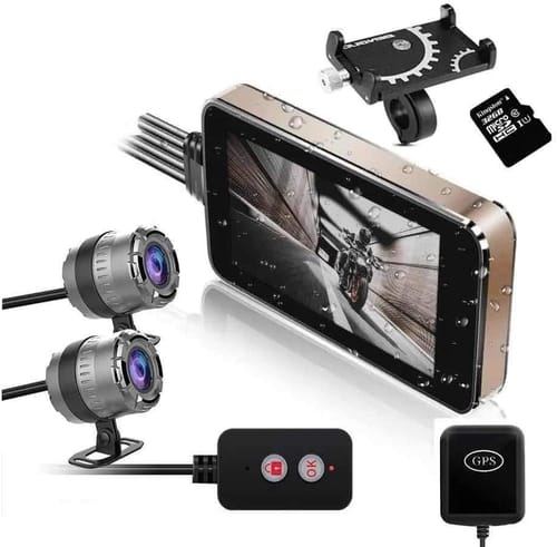 Review Centenary FHD Motorcycle Drive Recorder Camera