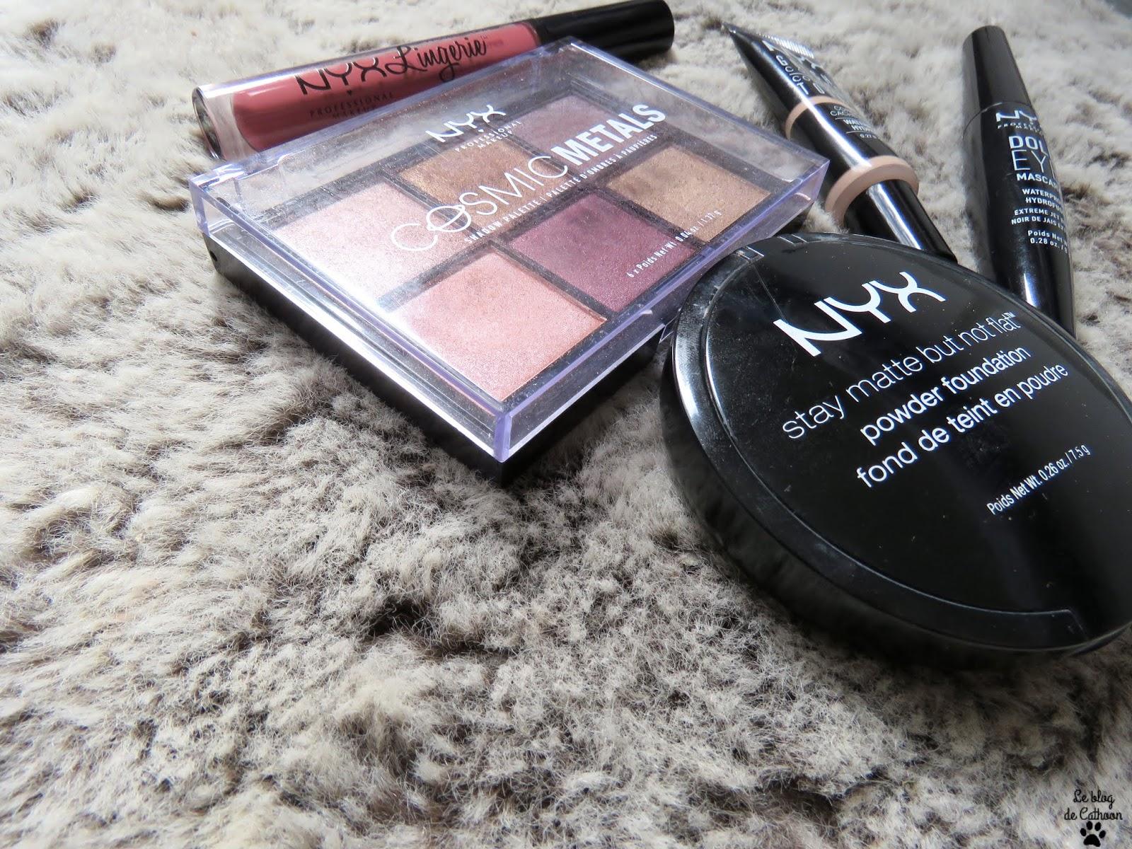 Que vaut le maquillage NYX?!