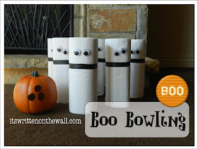 It S Written On The Wall Boo Bowling A Ghostly Halloween