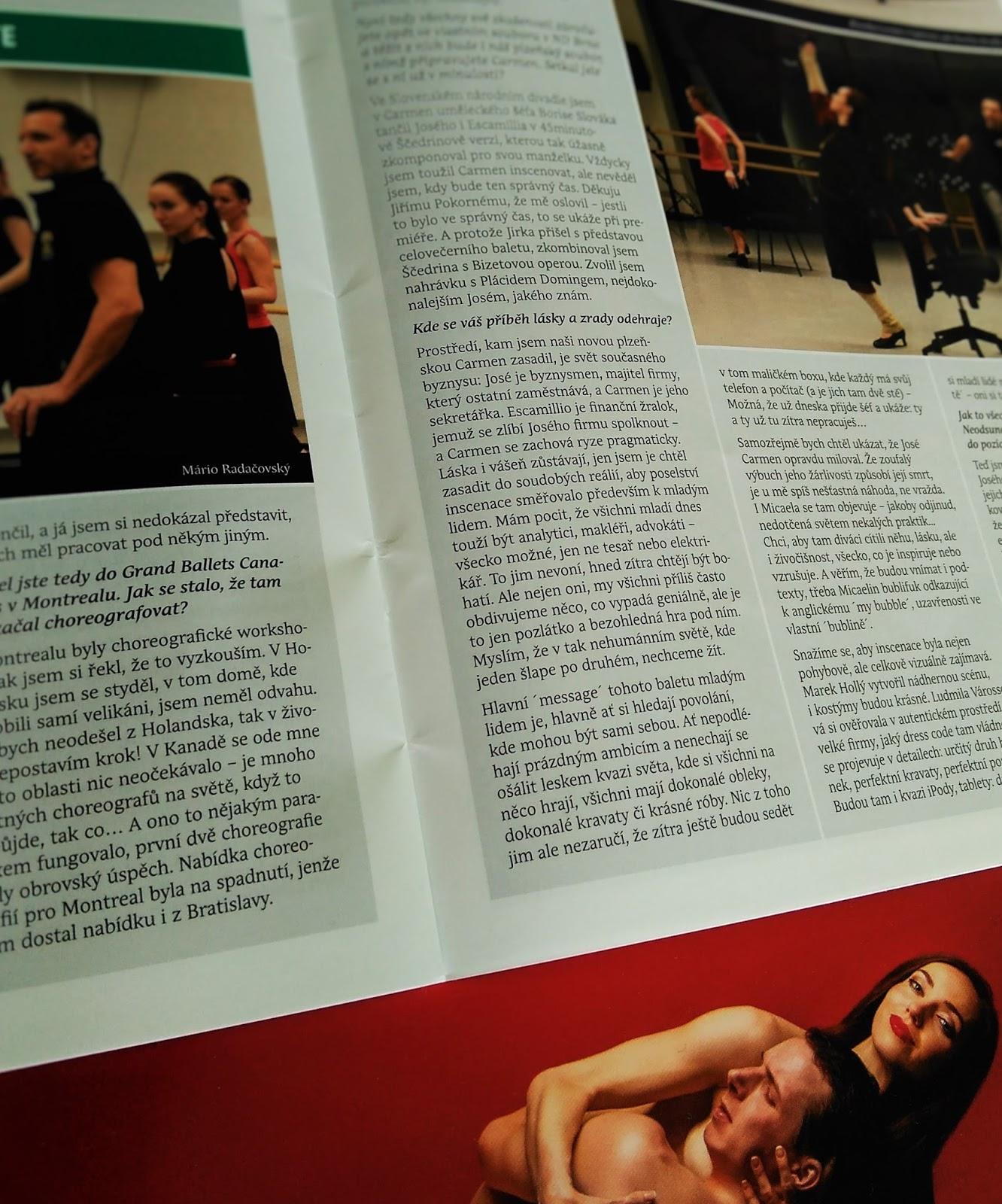 e8b568fde9 kulturníM  Carmen (Balet DJKT) - dojmy z premiéry