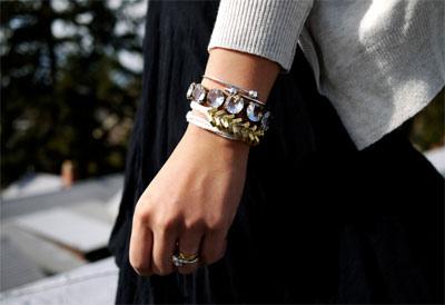 {how to: braided brass hex nut bracelet}