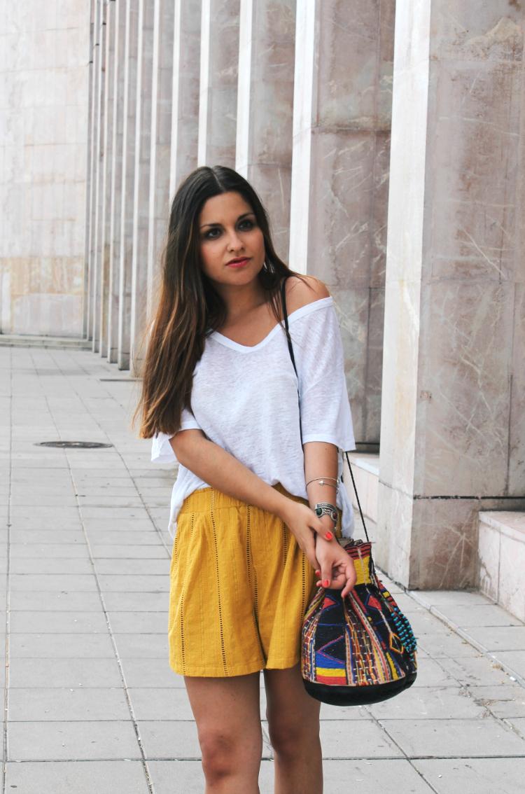 outfit boho mostaza blog de moda leon