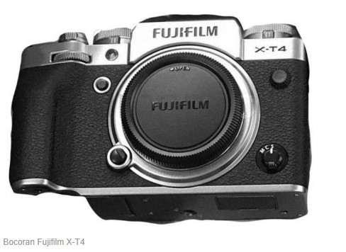 Rumor Kamera Mirroless Fujifilm X-T4