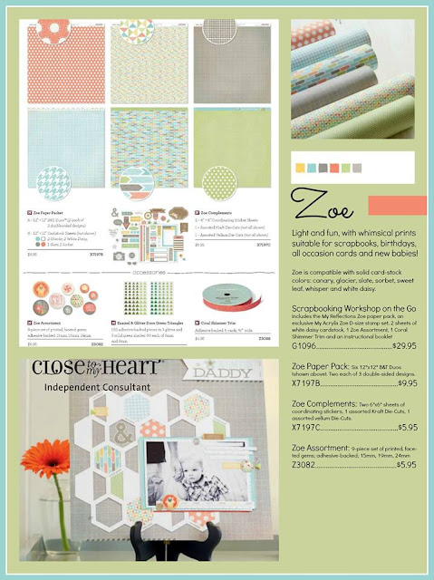 Featured CTMH Paper Pack and all that goes with it! BEAUTIFUL!
