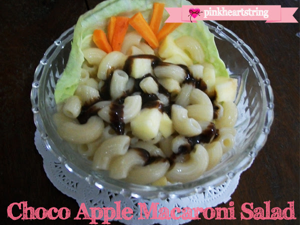 DIY Foodie: Choco Apple Macaroni Salad
