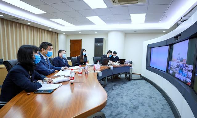 Expertos chinos comparten experiencias en la lucha contra Covid-19 con Perú