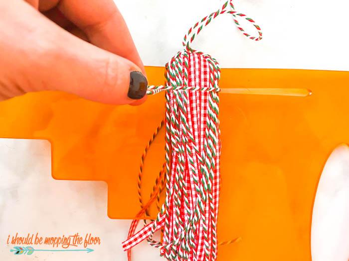 DIY Christmas Tassels