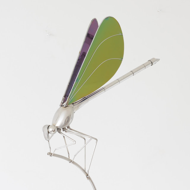 Damselfly - Ed Hill Metal Art