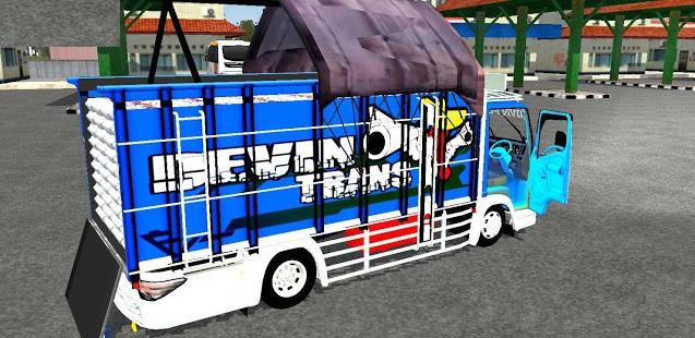 MOD Truck Isuzu Devin trans Terpal segitiga