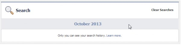 how to delete facebook search history permanently