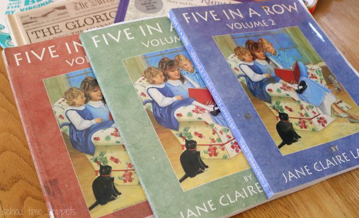 Homeschooling with Five in a Row Curriculum