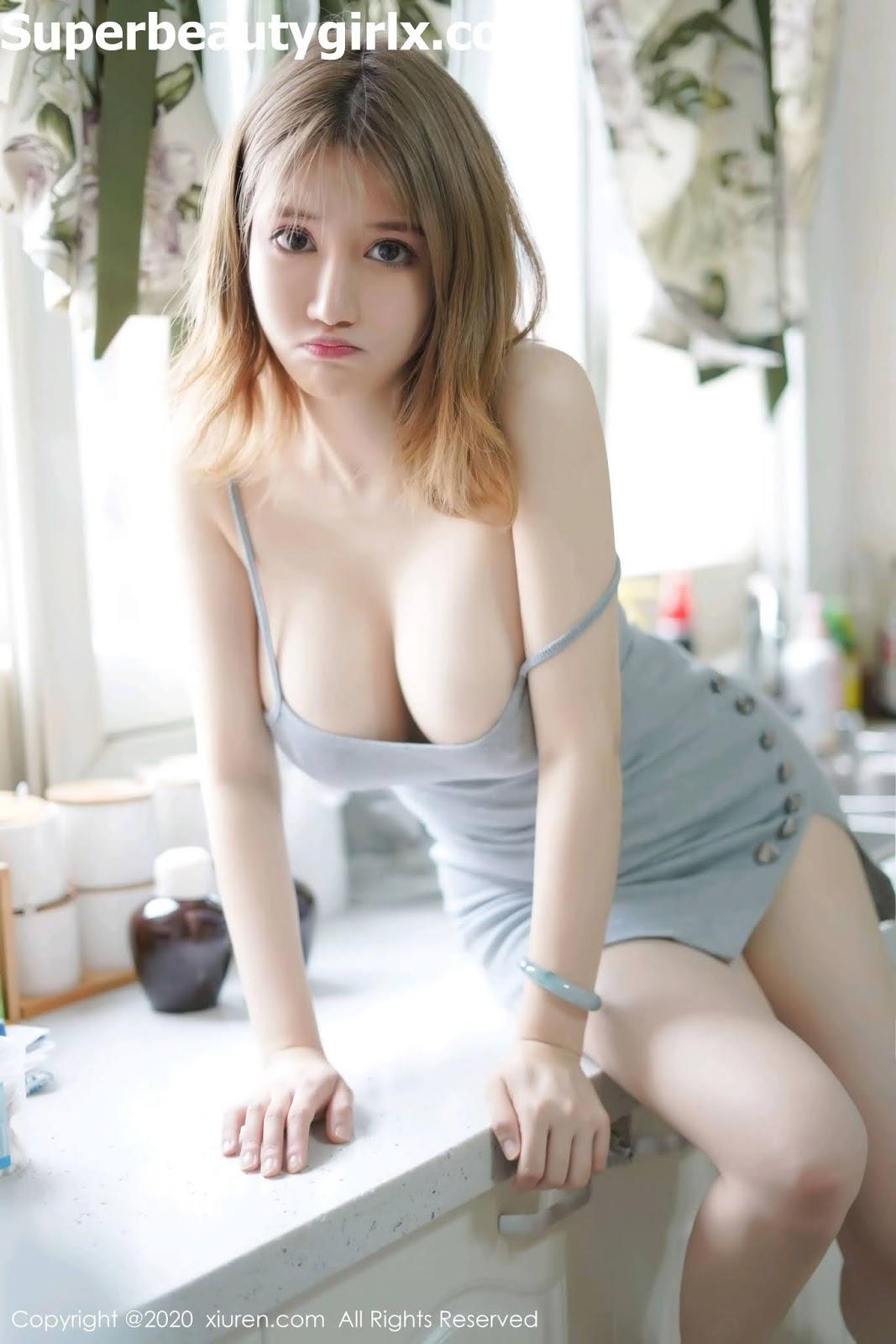 XIUREN-No.2416-Zhou-Da-Meng-Superbeautygirlx.com