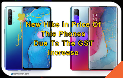 hike in price due to gst increase