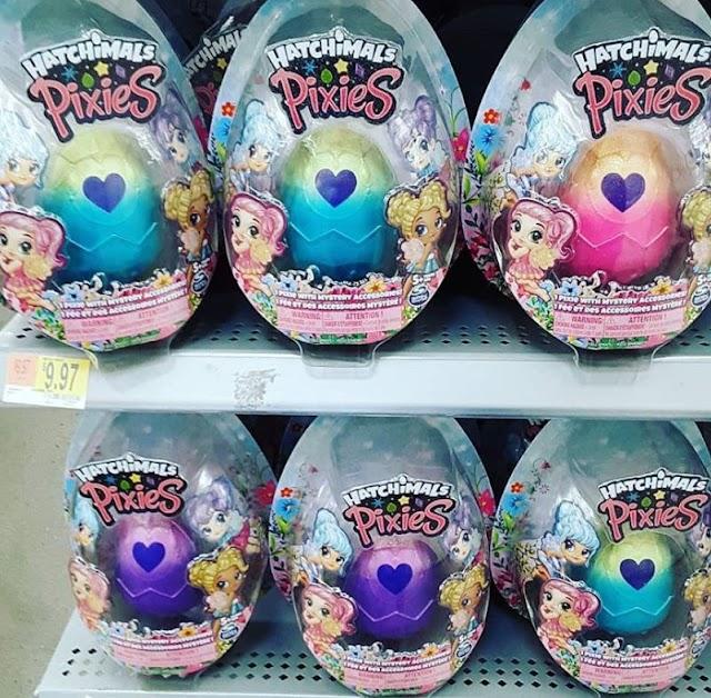 Феи Hatchimals Pixies: новые коллекционные куколки в пасхальном яйце