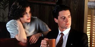 Dale y Audrey Twin Peaks café