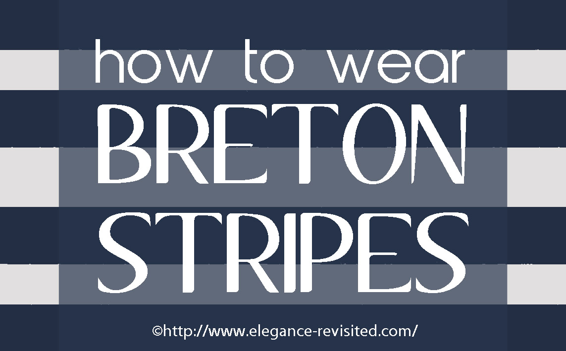 how to wear Breton stripes