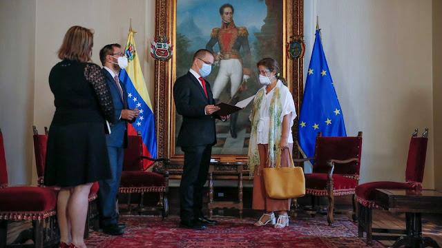 ¿Por qué ha sido expulsada de Venezuela la embajadora de la UE?