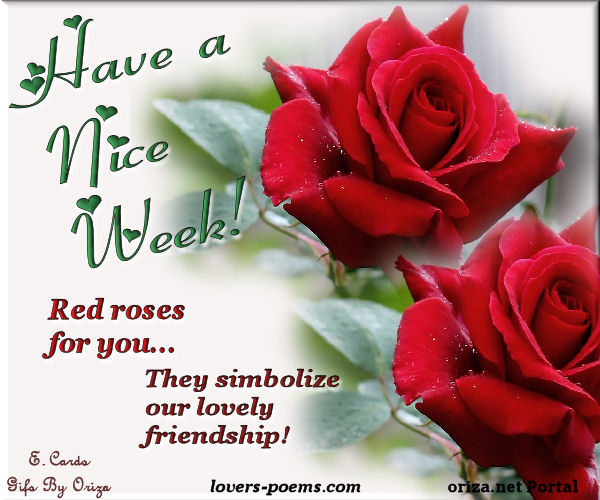 Gifs by Oriza: Red roses for you...
