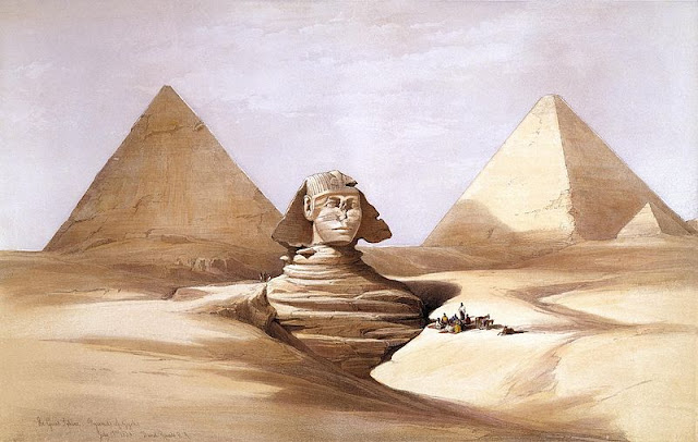 The Great Sphinx, Pyramids of Giza