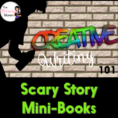 Making mim-books is a great hands-on activity that can be used in so many ways: retelling a fiction piece, summarizing a nonfiction text, creating a glossary of terms, writing a prequel or sequel, synthesizing sources to write a children's book. Read about these ideas and using mini-books to tell scary stories here.