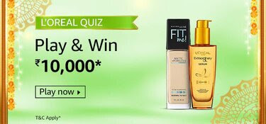 Amazon Loreal Quiz