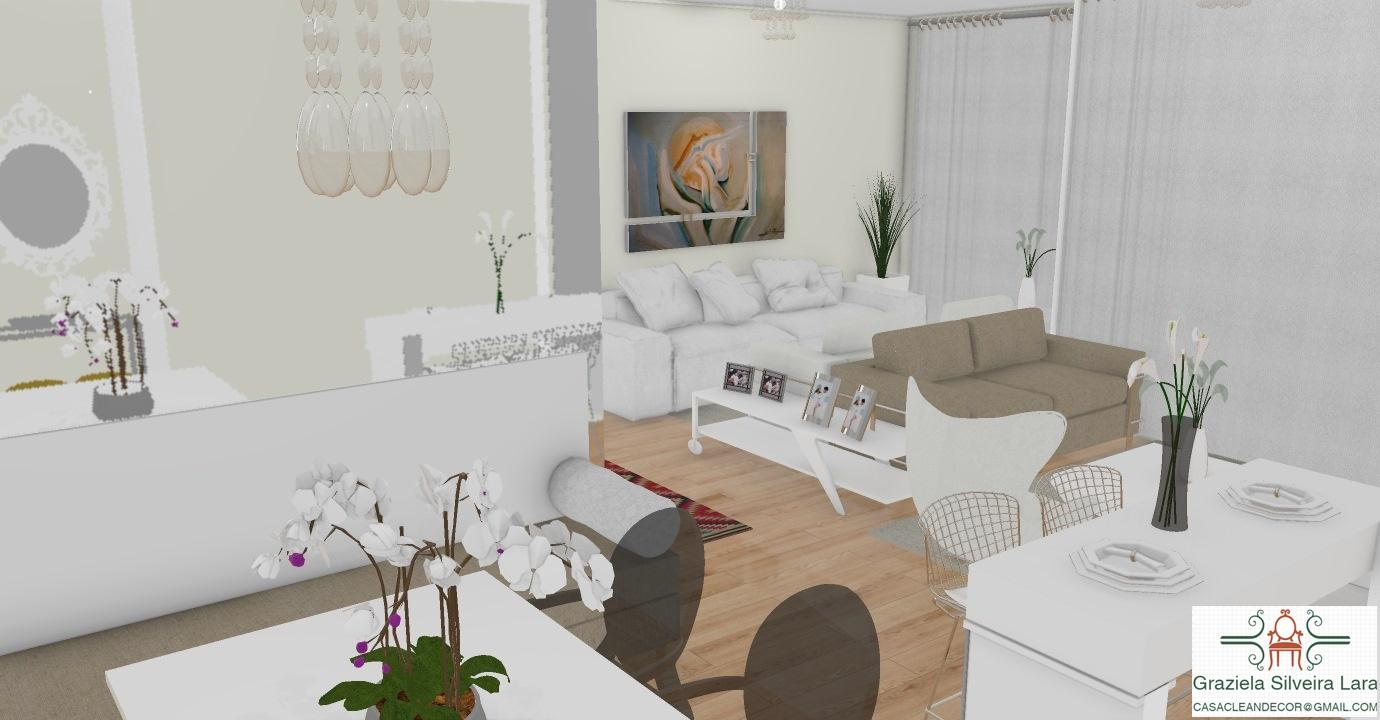 Construindo Minha Casa Clean Decora O E Projeto De Salas  ~ Quarto Com Varanda Integrada E Prateleira Quarto Menina