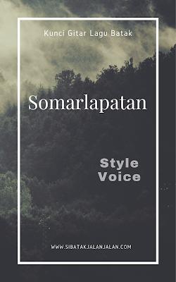 kunci gitar lagu batak somarlapatan chord batak style voice