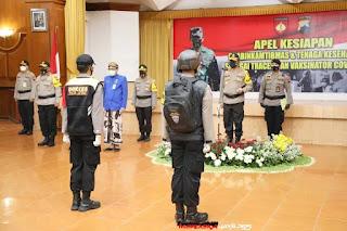 Kapolda Jateng Terjunkan 4 937 Bhabinkamtibmas Siap Trace Covid di Jateng