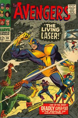 Avengers #34, the Living Lser