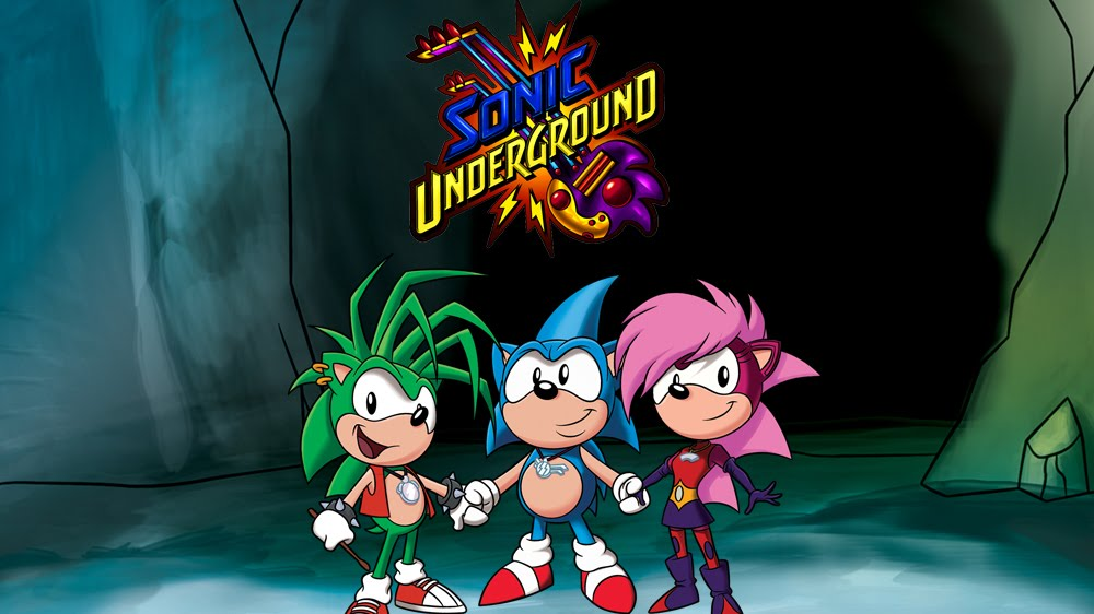 Shaman Of Animation Blogs Blast From The Past Sonic Underground Ep 1